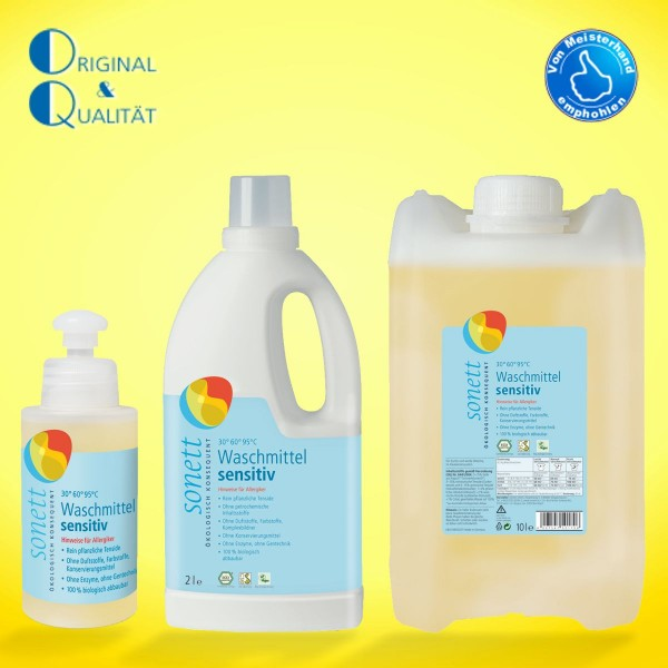 SONETT Waschmittel sensitiv