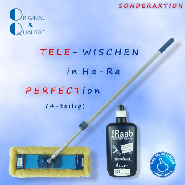 Ha-Ra Tele-Wischen (4er-Set) Gelb
