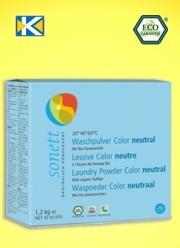 SONETT Waschpulver Color sensit. 2x60 ml