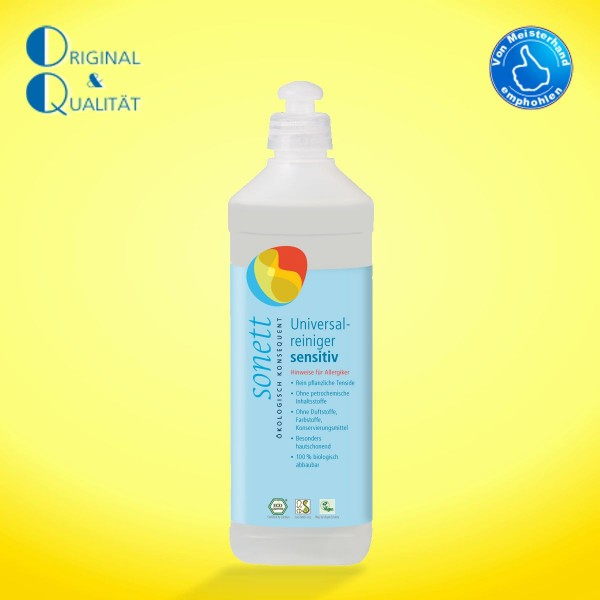 SONETT Univers. Reinig. sensitiv 500 ml