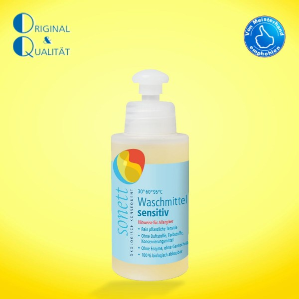 SONETT Waschmittel sensitiv 120 ml