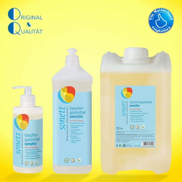 SONETT Geschirrspülmittel sensitiv 300 ml