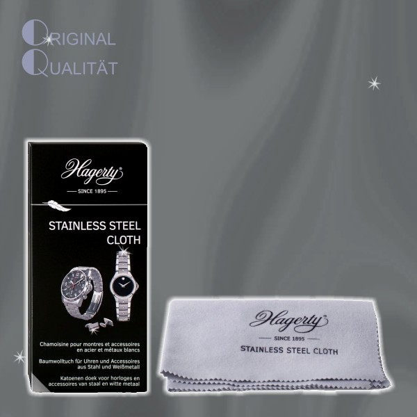 Hagerty Stainless Steel Watch Cloth