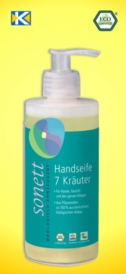 SONETT Handseife 7 Kräuter 120 ml
